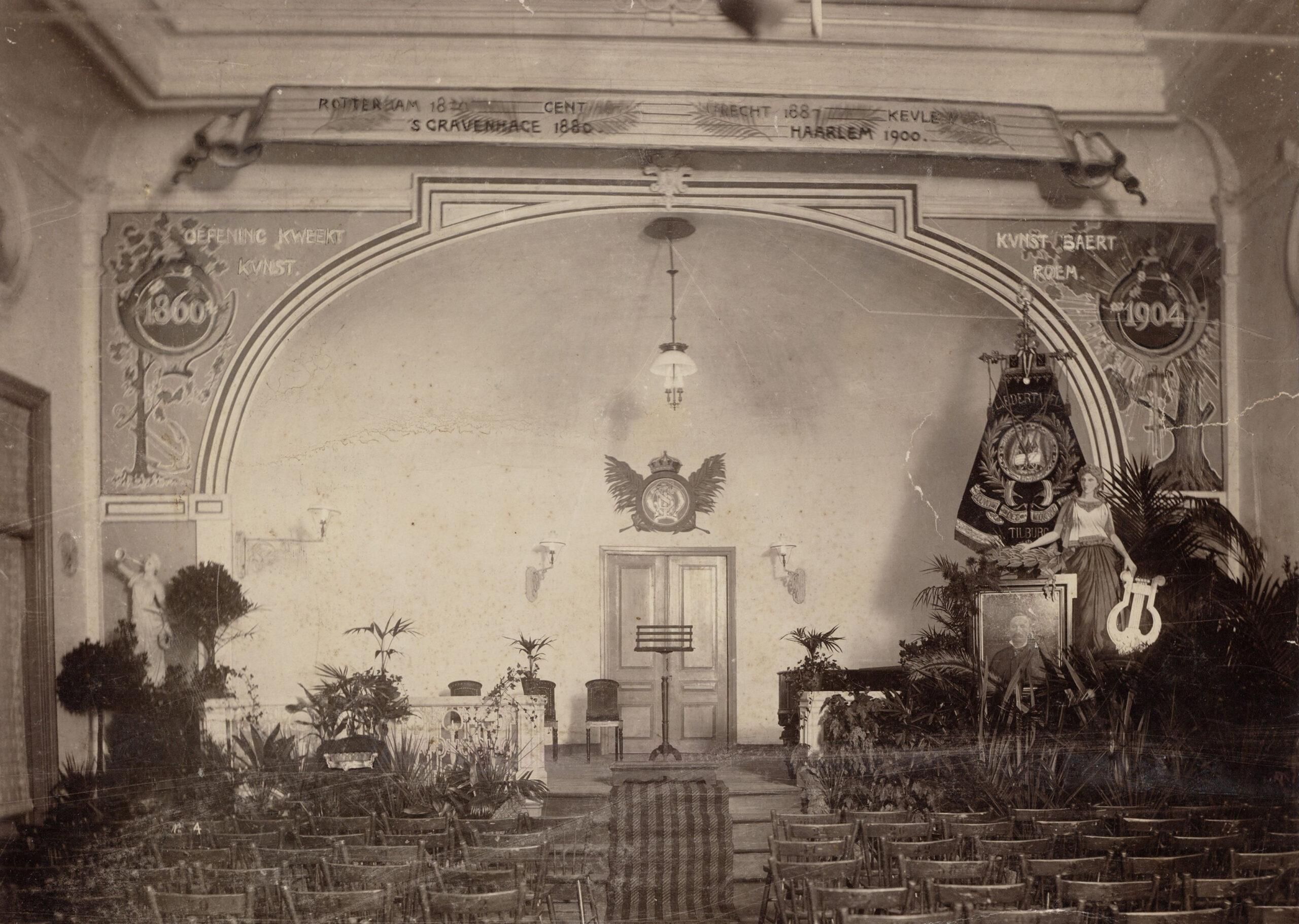 Concertzaal souvenir 1904 foto nr. 52408