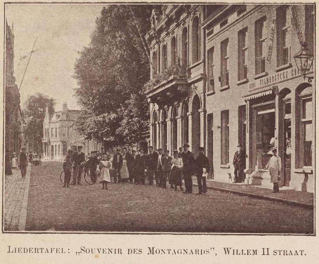 Souvenir gebouw in 1900 hr kwaliteit foto nr.3001